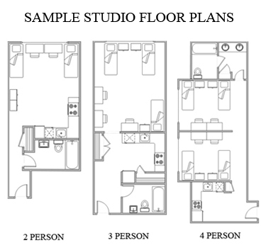 broadway studio floorplan